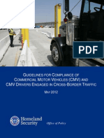 Dhs Cross Border Trucking Guidelines