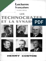 Henry  Coston - Les Technocrates Et La Synarchie