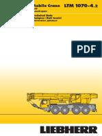 Liebherr LTM 1070-4.2 Mobile Crane_70t_Technical Data