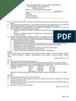 ICMA Questions Dec 2012