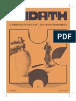 Kadath Chroniques Des Civilisations Disparues - 077