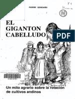 El Gigantón Cabelludo