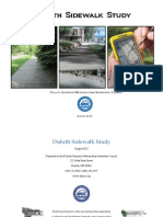 Duluth Sidewalk Study - Final Document