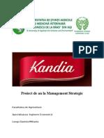 Proiect Kandia Dulce
