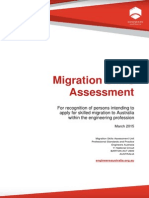 Migration skill assessment booklet