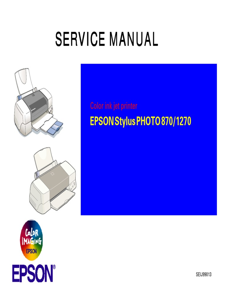 epson stylus color 860 printer service manual