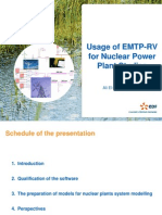 Usage of EMTP-RV for NuclearPower Plant Studies_EDF