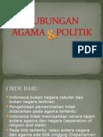 Hub. Agama Dan Politik