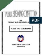 Public Speaking Syarat-1