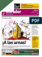 Edición impresa del domingo 12 de abril de 2015