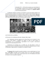 Tema 8. II Guerra Mundial
