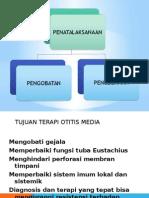 Penatalaksanaan Otitis Media Akut