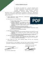 Surat Pernyataan Lam