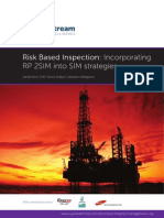 Incorporating API Code RP2SIM(Risk Based Inspection)