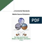 En EnvStand2 Mobile Source Emissions