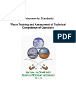 En_EnvStand14_Waste Training and Assessment of Technical Compliance of Operators