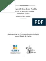 Reglamento de CERESO Puebla