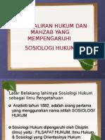 Tm3 Aliran-Aliran Sosiologi Hukum