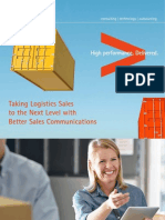 Accenture - Improving Logistics Services-Sales With Better Sales Communications