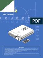 Projector Manual 2498