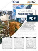 AOptix Mobile Backhaul Solution Brief