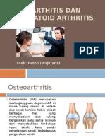 Osteoarthitis Dan Rheumatoid Arthritis