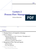 Lecture 2. Process Flow Management