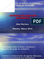 8 Criterios de seleleccao de antibioticos 2014.ppt