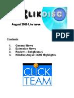 Klikdisc August 2009