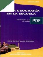 Hacer Geografia en La Escuela. Silvia Cordero (1)