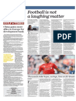 Football is Not a Laughing Matter - Gulf Times 16 April 2015