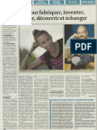 Quotidien Jurassien - 15 avril 2014