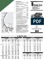 2014 SUMMER Bus Schedule 5