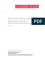 NYCraft Beer 2013 Impact Study FINAL4.15.15