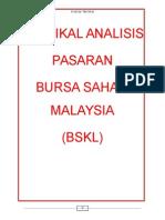Teknikal Analisis Pasaran Saham Bursa Malaysia