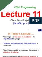 JavaScript-I