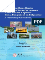 Developing Cross-Border Production Networks between North Eastern Region of India, Bangladesh and Myanmar