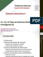 Tipos de Sistemas Distribuidos