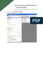 Como Fazer Assinatura Digital Com o Adobe Professional 7
