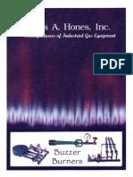 Quemadores Charles a. Hones Buzzer Catalog