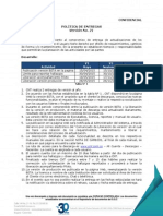 Politica de Entregas Pacientes v21