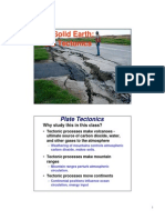 Lecture12 Solid Earth Plate Tectonic