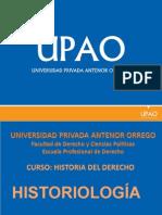 H. DEL DERECHO 3º - 2 ESTUDIOS ROMANISTAS EN EL PERÚ.ppsx