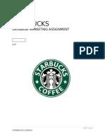 Starbucks canada marketing plan