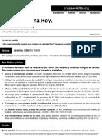 HCV - Sanidad Divina Hoy - 12Abr2015