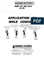 Application of Mole Concept