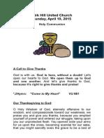 communion joint kh april 19, 2015