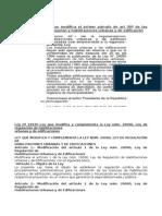 Ley Nº 29300 Ley Que Modifica El Primer Párrafo de Art 30º de Ley 29029