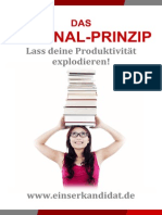 Einserkandidat Strategie Das Journal Prinzip E Book