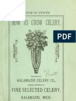 how to grow celery - old book